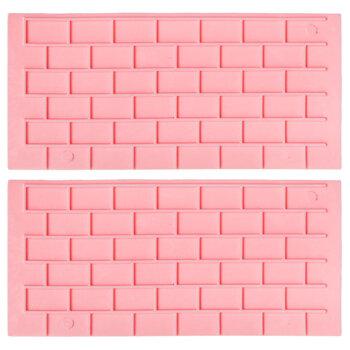 Brick Fondant Molds