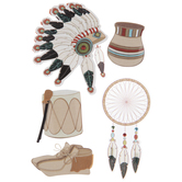Native American 3D Stickers