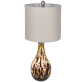 Tortoise Glass Lamp