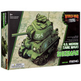 Sherman M4A1 Medium Tank Model Kit