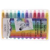 Rainbow Shimmer Watercolor Creams - 12 Piece Set