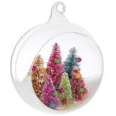 Bright Trees Globe Ornament