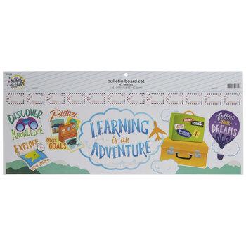 Learning Is An Adventure Bulletin Board Set