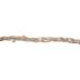 Natural Beaded & Braided Jute Ribbon - 11/16