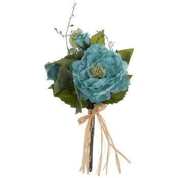 Turquoise Rose, Dahlia, Hydrangea & Peony Bouquet