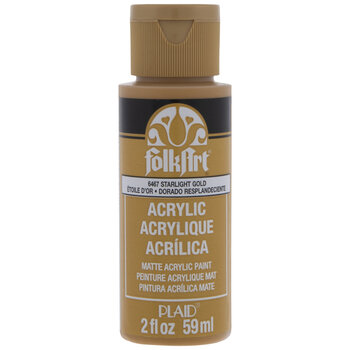 Starlight Gold FolkArt Acrylic Paint