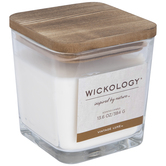 Vintage Luxe Wood Wick Jar Candle