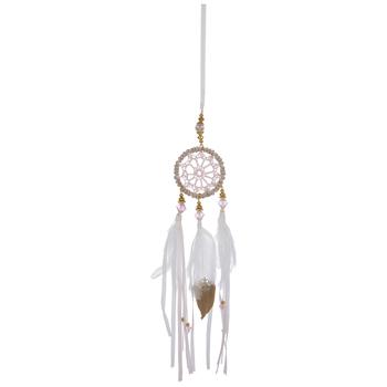 Pink Dreamcatcher Ornament