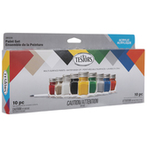 Multi-Surface Acrylic Paint - 10 Piece Set