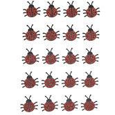 Ladybug Glitter Stickers