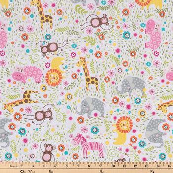 Safari Fun Flannel Fabric