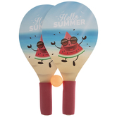 Hello Summer Watermelon Ping Pong Paddles