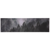 Foggy Forest Wood Wall Decor