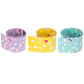 Donut Party Slap Bracelets