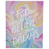 Believe In Their Dreams Canvas Wall Decor