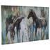 Abstract Horse Canvas Wall Decor