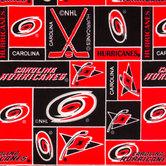 NHL Carolina Hurricanes Fleece Fabric