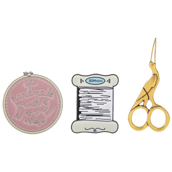 Enamel Sewing Magnetic Needle Minders