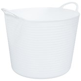 White Container With Handles