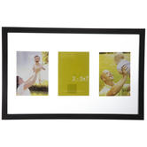 Black Float Collage Wood Wall Frame