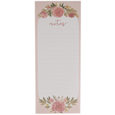 Pink Roses Magnetic Notepad