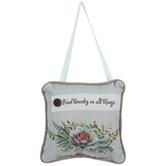 Find Beauty Pillow Door Hanger