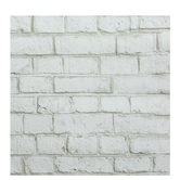 Whitewash Brick Wallpaper Vinyl Wall Art