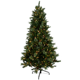 Mountain Cashmere Twinkle Pre-Lit Christmas Tree - 7 1/2'