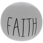 Faith Sphere Decor