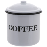 Coffee Metal Canister