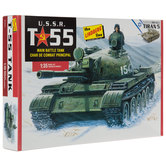 U.S.S.R. T-55 Tank Model Kit