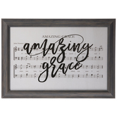 Amazing Grace Framed Wall Decor