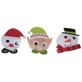 Snowman & Santa Pom Pom Craft Kit