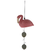 Pink Flamingo Bell Wind Chime