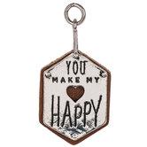 You Make My Heart Happy Pendant