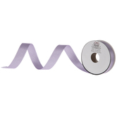 """Light Orchid Pearlescent Silver Double-Face Satin Ribbon - 5/8"""""""