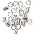 Sterling Silver Crimp Tubes - 2mm