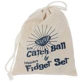 Wood Fidget Toy & Catch Ball