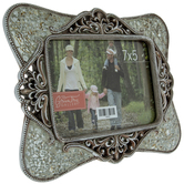 """Silver Mosaic Frame - 7"""" x 5"""""""