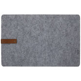 Felt Placemat With Faux Leather Strap