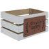 Simply Grateful Wood Crate
