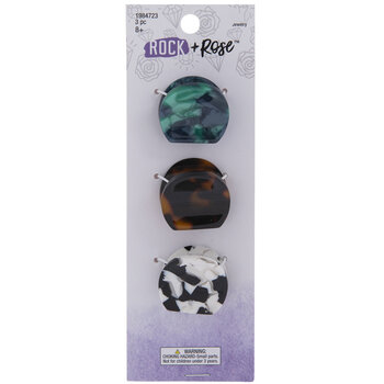 Multi-Color Tortoiseshell Claw Hair Clips