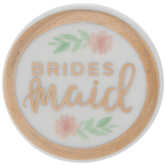 Bridesmaid Round Pin