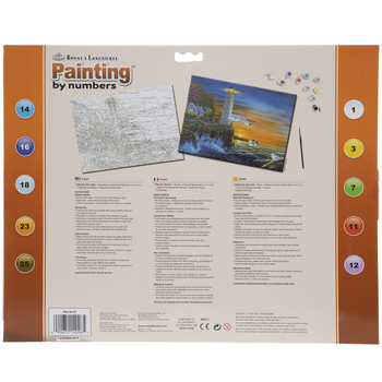 Waterside Lighthouse Paint By Number Kit