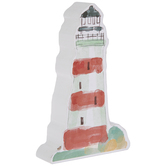 Watercolor Lighthouse Wood Decor