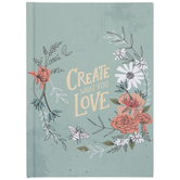 Create What You Love Floral Journal