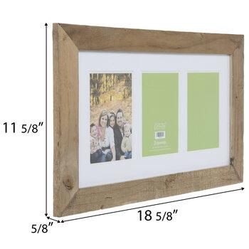 Barnwood Collage Wall Frame