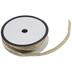 Gold Metallic Braided Cord - 1/4