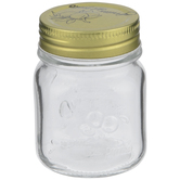 Round Glass Mason Jar - 5 Ounce