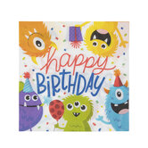 Monster Party Napkins - Small
